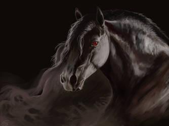 Darkstorm by GoldammerArt