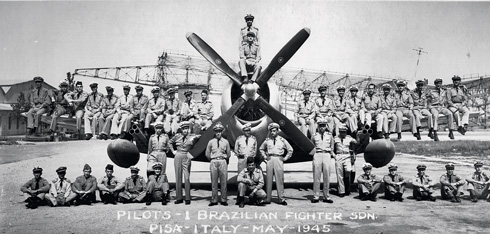 Brazilian air force in italy, 1945 by Gukpard