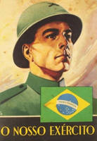 Brazilian WWII army propaganda. by Gukpard