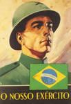 Brazilian WWII army propaganda.