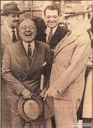 President Vargas laughing. by Gukpard