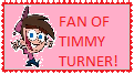 Timmy Turner Fan Stamp (Pink) by WillM3luvTrains