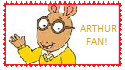 Arthur Read Stamp 1 by WillM3luvTrains