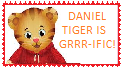 Daniel Tiger Stamp 2 by WillM3luvTrains