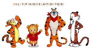 My Top Favorite Cartoon Tigers