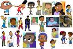 My Favorite Black Cartoon Characters