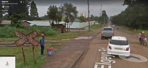 Kenya Railroad Crossing