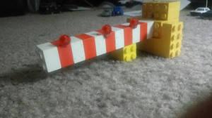 Lego Crossing Gate (Bricks) 1