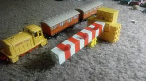 Lego Crossing Gate (Blocks) 4 with train