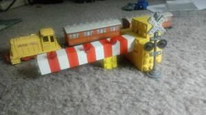 Lego Crossing Gate (Blocks) 5 with train