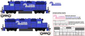 DanielArkansanEngine's GP38 Diesel Conrail