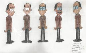 Me as a Loud House Character (Different Poses)