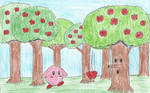 Kirby and The Whispy Woods