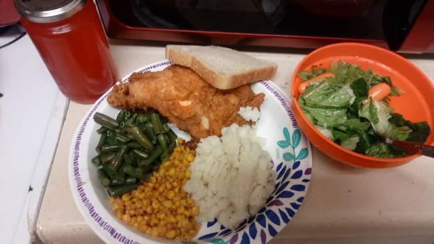 Chicken Dinner January 6, 2020