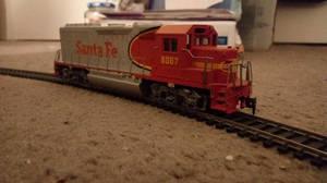 Santa Fe 6067 Locomotive