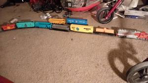 Santa Fe Thunderbolt Freight Train 1-15-21