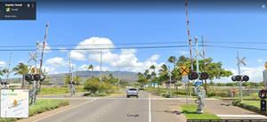 Hawaii Railroad Crossing 2