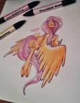 - Fluttershy - by BioV-xen