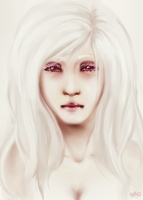 - Albino Girl - by BioV-xen