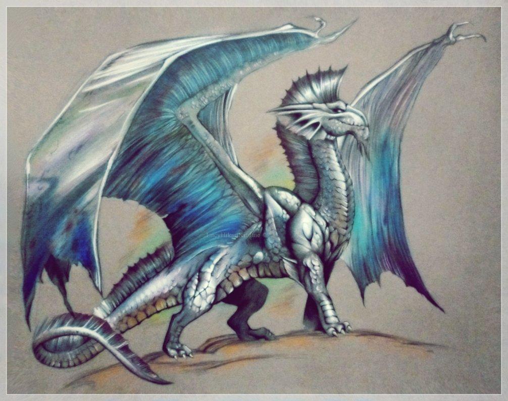Spam attack part four: Myhrr __silver_dragon___by_biov_xen-d6slrmq