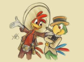 Panchito y Jose by BioV-xen