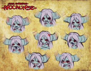 - Facial Expressions: Apocalypse -