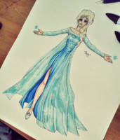 - Elsa the Snow Queen - by BioV-xen