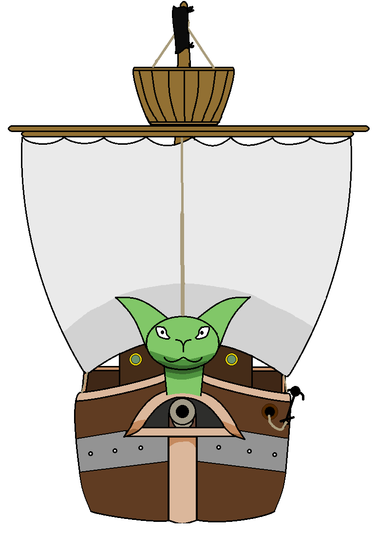 my pirate ship front view by hipeople102 on deviantart