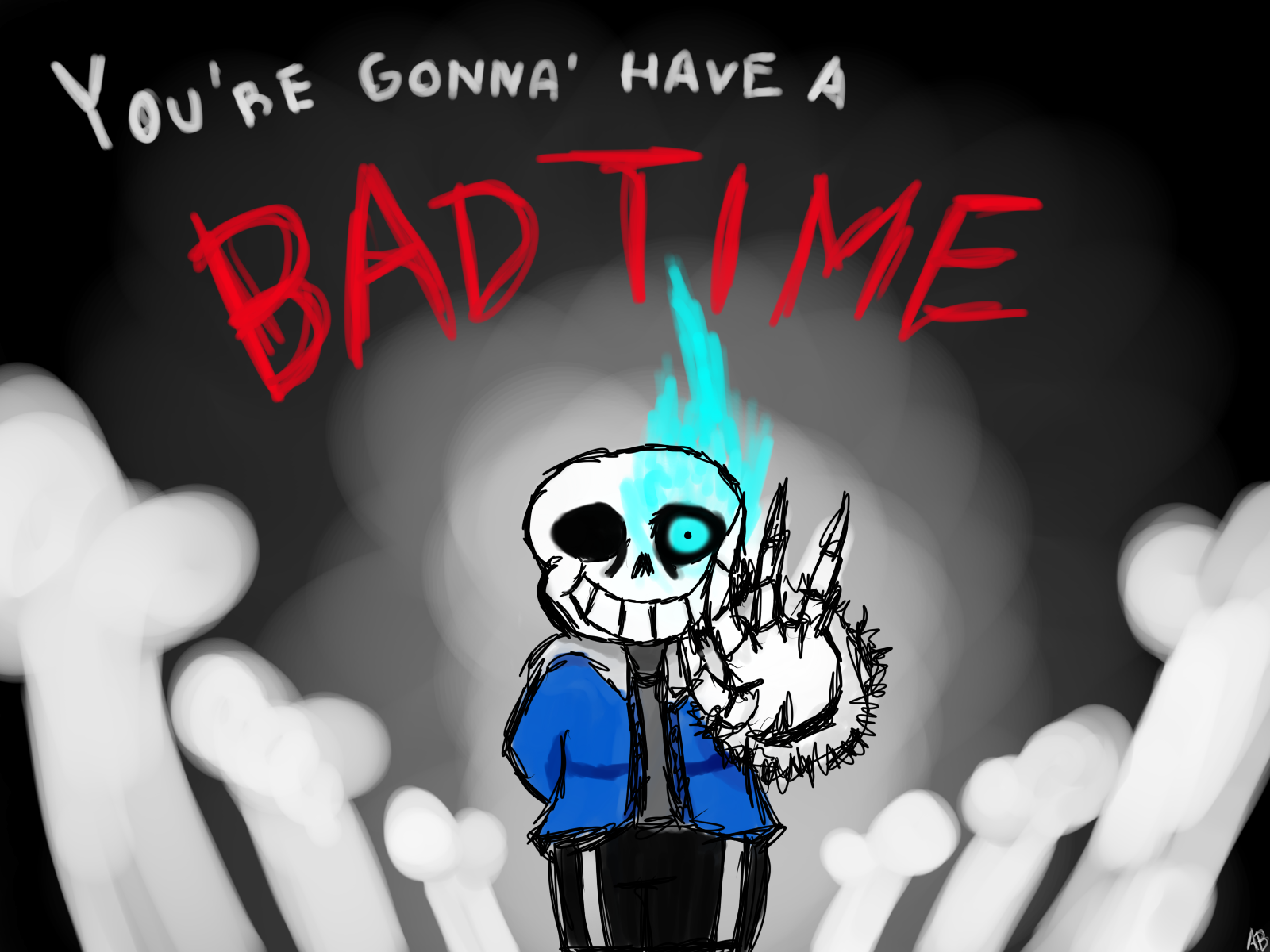 You Re Gonna Have A Bad Time By Anthonyblender On Deviantart