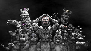 [FNAF] STATUES OF DOOM by AnthonyBlender