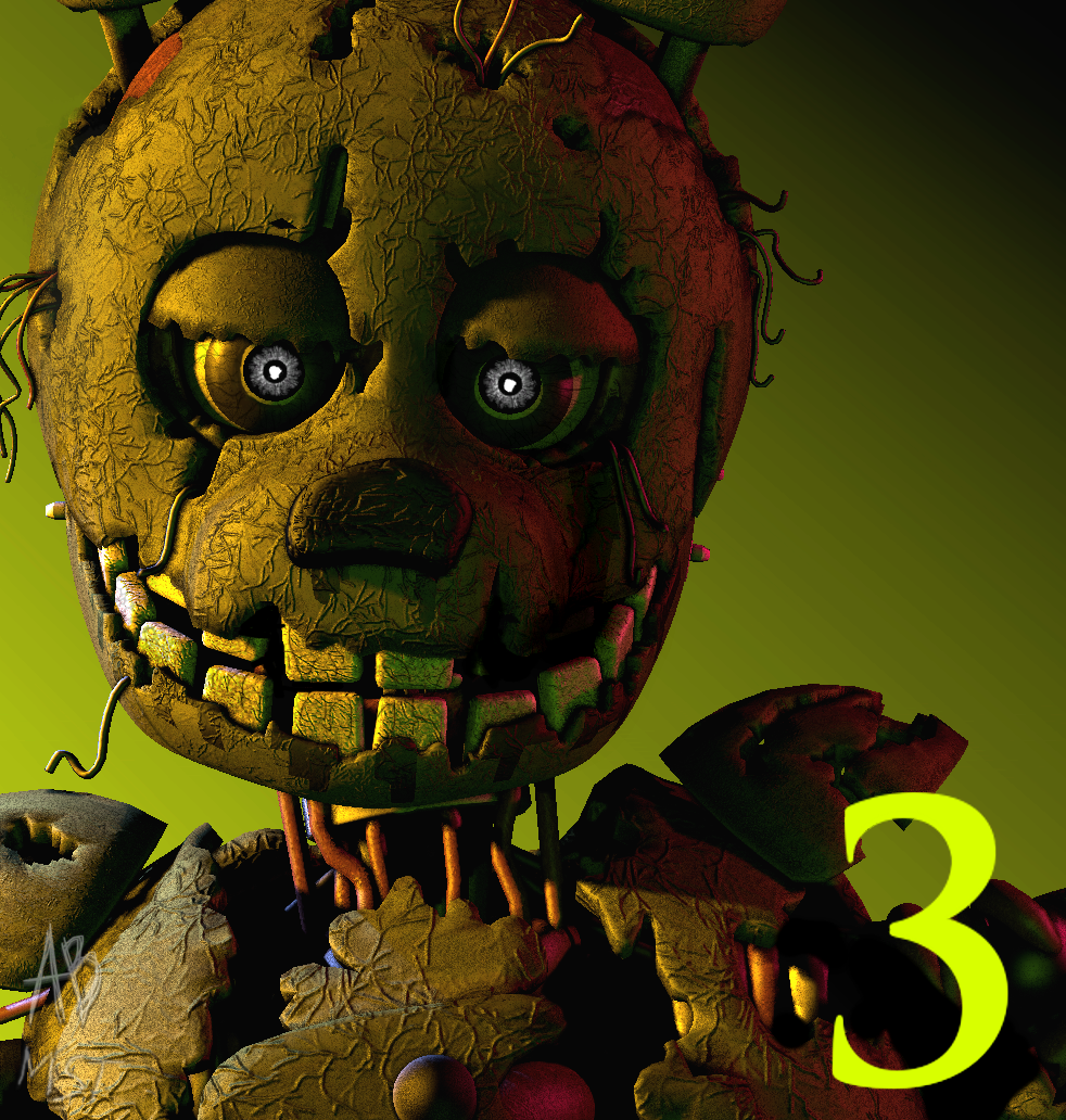 [FNAF3] Five Nights At Freddy's 3 Icon Remake 3.0 By