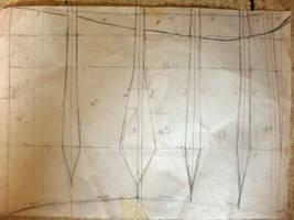 Underbust corset - pattern