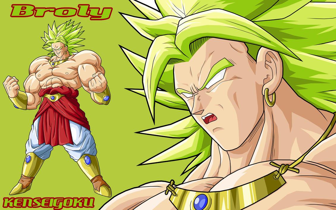 Dragon Ball Z Broly 0004 By Kenseigoku