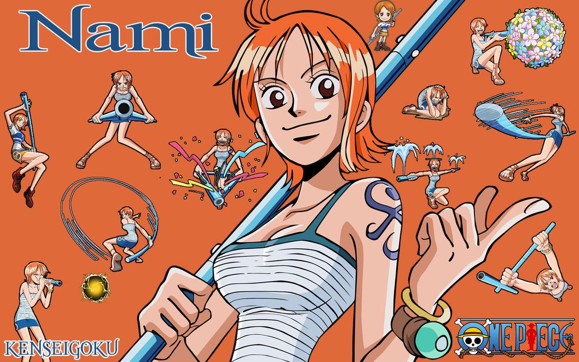 Nude Nami From One Piece | DigitalEro Offline