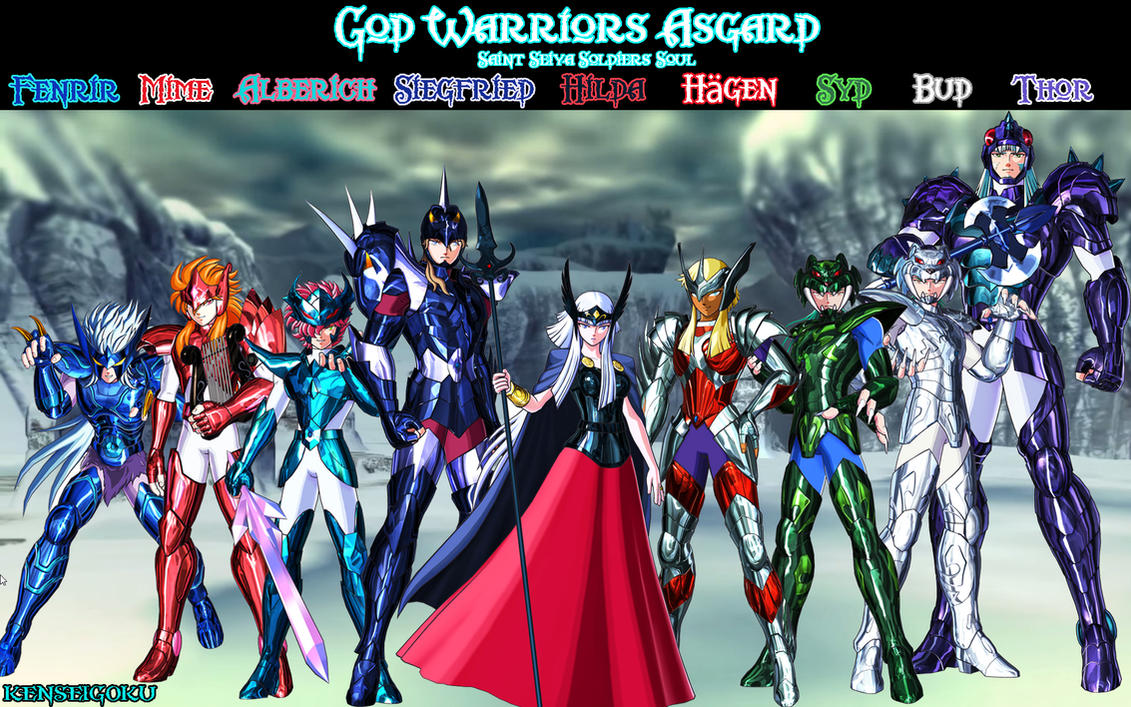 Wall KSG SS God Warriors Asgard by kenseigoku