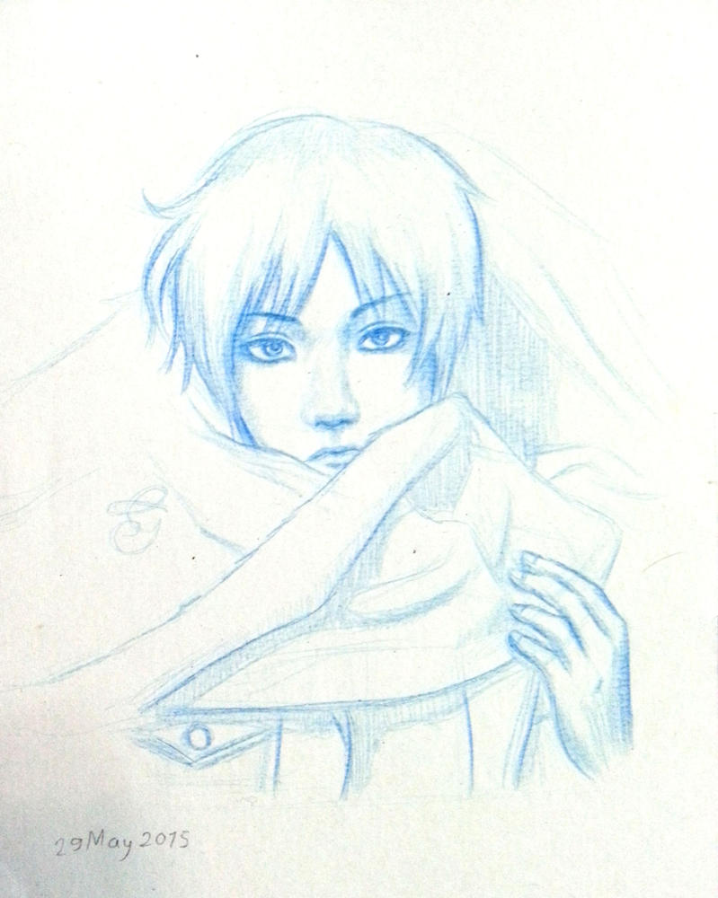 Eren cosplay portrait by Hiroshinki