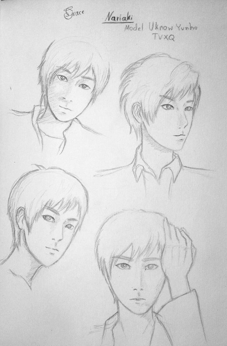 Character Design Model:Yunho by Hiroshinki