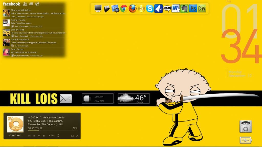 My Most Recent Laptop Desktop by Sceritz