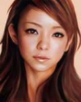 Namie Amuro - close up look -