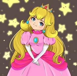 Princess Peach by nucchiin