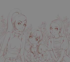 Dragon Quest XI - Girls [wip] by nucchiin