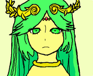 Lady Palutena by AllstarMS