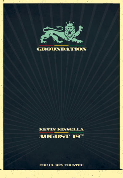 Groundation - The El Rey by originalseven