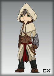 Chibi Altair by AeroleFlock