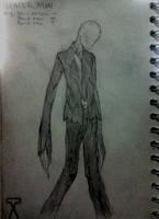 Slender Man by AeroleFlock