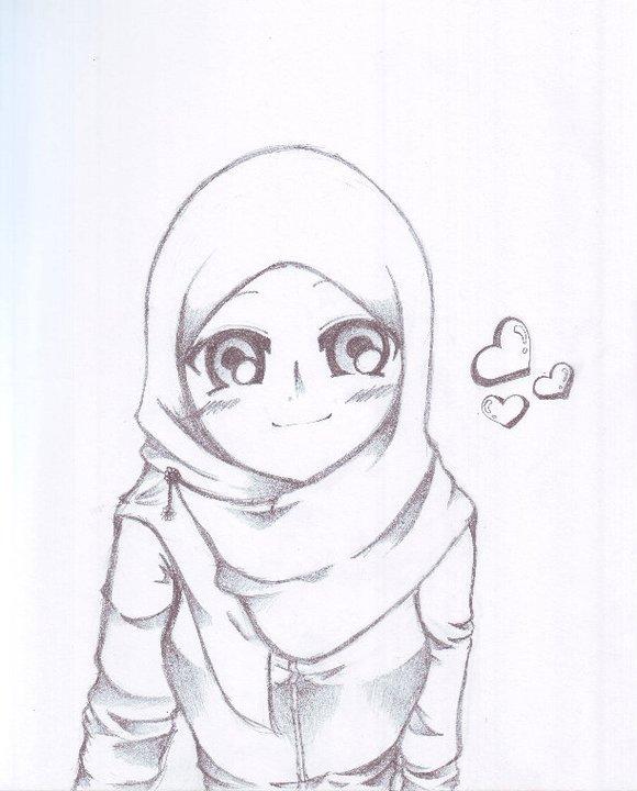 Bad Girl Pencil Sketch Templates