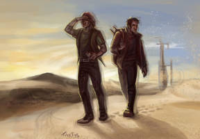 SGU:  In a desert by Kaktus-Olya