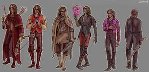 Once Upon A Time: Rumple gr by Kaktus-Olya