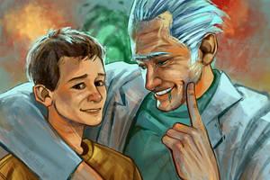 Rick and Morty: Family by Kaktus-Olya