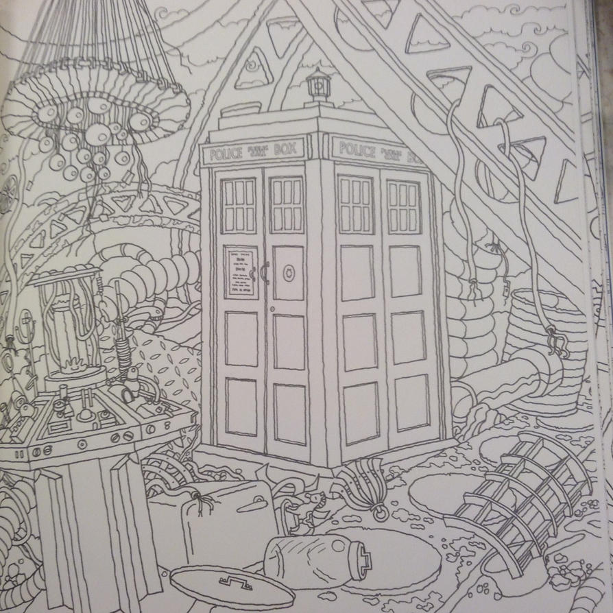 Tardis Coloring Page By Hereisevil2 On Deviantart Tardis Coloring Page